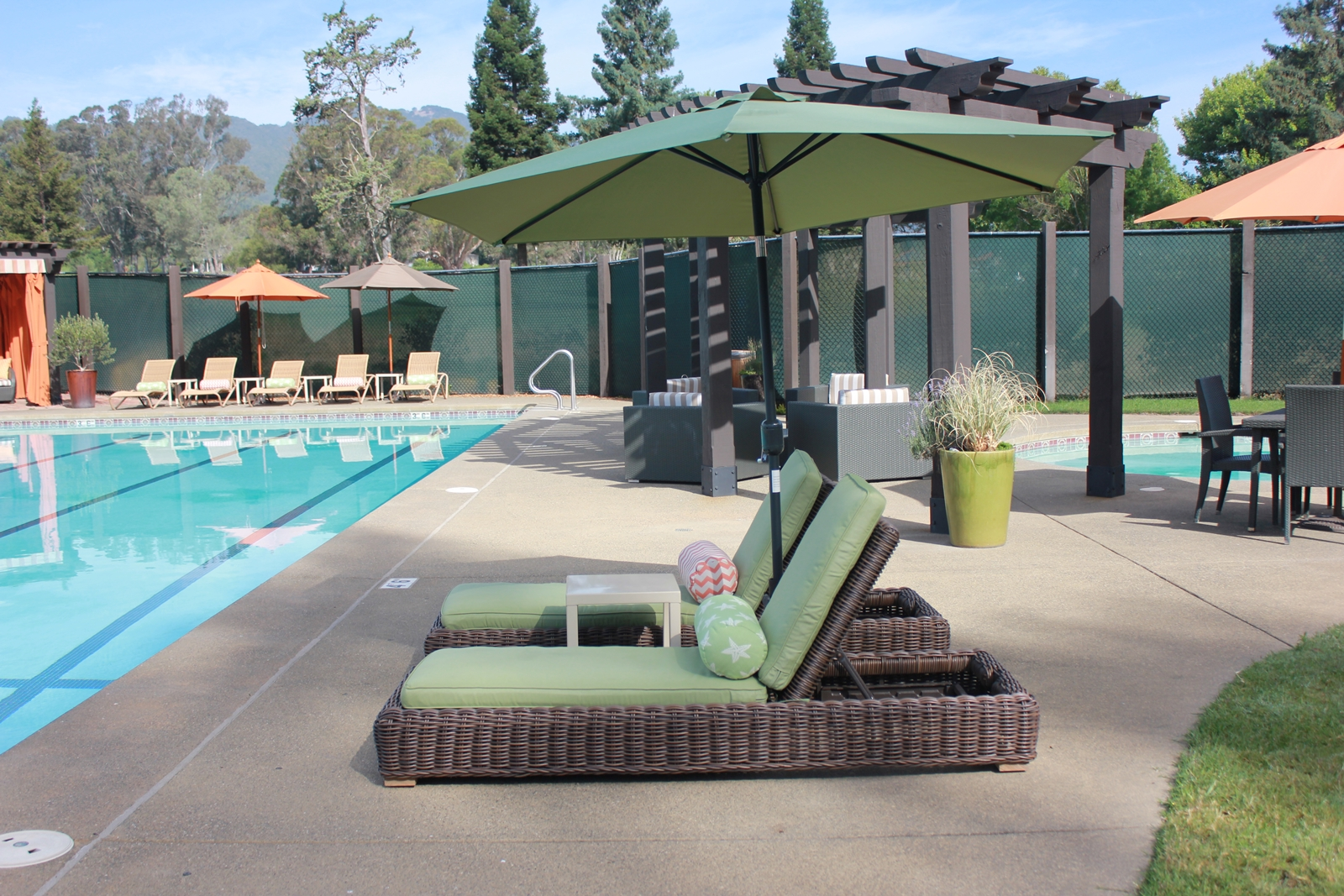 Sonoma Golf Club swimming pool